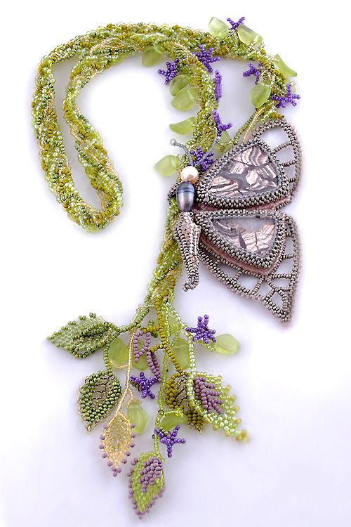 Wonderful Beadwork by Marina Nosova featured EyeCandy in Bead Patterns.com Newsletter. Check it out for more EyeCandy and for featured FREE beading patterns/tutorials!