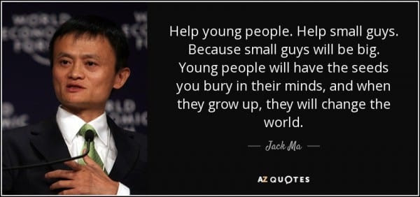 Jack Ma Founder Of Alibaba Talks About Poor People Patrick Bet David