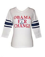 Sir Alistair Rai 'Obama for Change' Tee Shirt as seen on Halle Berry