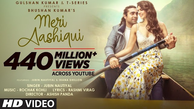Meri Aashiqui मेरी आशिकी Hindi english song Lyrics – Jubin Nautiyal - Jubin Nautiyal Lyrics