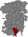 Localització de Puig-reig respecte del Berguedà