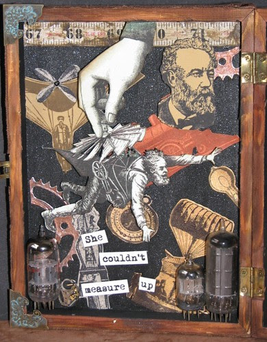 His Loss - Steampunk Collage 005