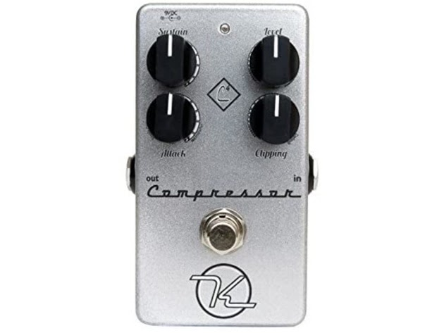 Keeley K4COMP Award Winning Industry Standard 4 Knob Compressor for Stomp Box (Used, Damaged Retail Box) for $179
