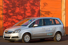 Opel/Vauxhall Zafira CNG (Compressed Natural Gas)