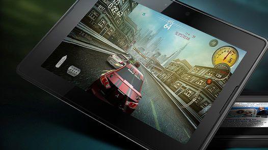 PlayBook, la tableta presentada por RIM, el desarrollador del BlackBerry.