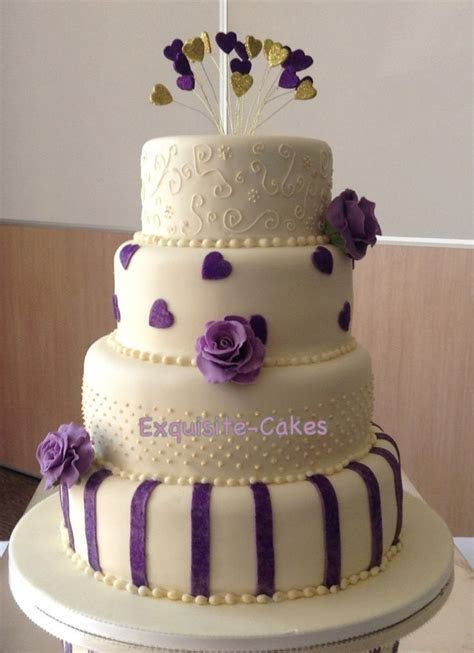 61 best images about Purple & Ivory Wedding Colors on
