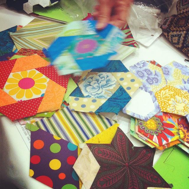 Joy's Candied Hexagons