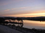 Killington Lake at sunrise