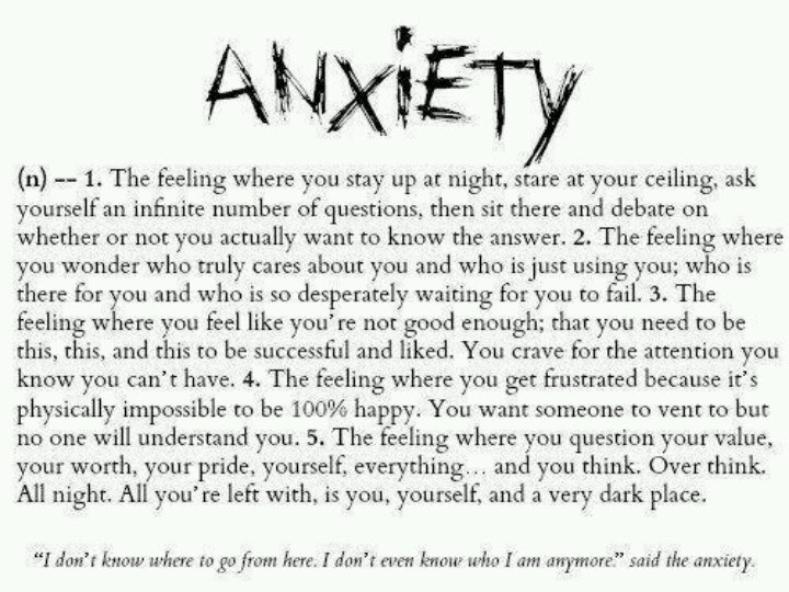 Quotes About Anxiety And Depression 59 Quotes