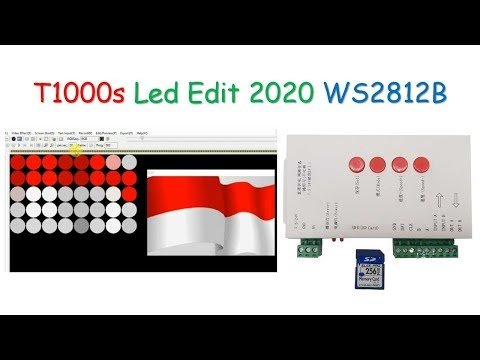 T1000s Led Controller WS2812B WS2811 Led Edit 2020