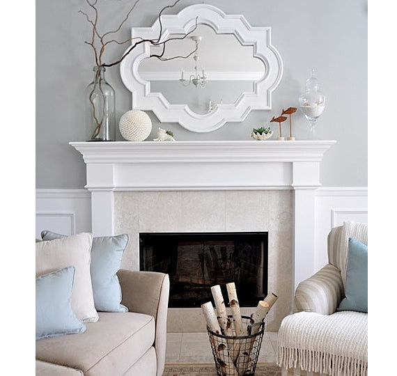 Tip Tuesday Hanging A Mirror Above A Fireplace Mantle