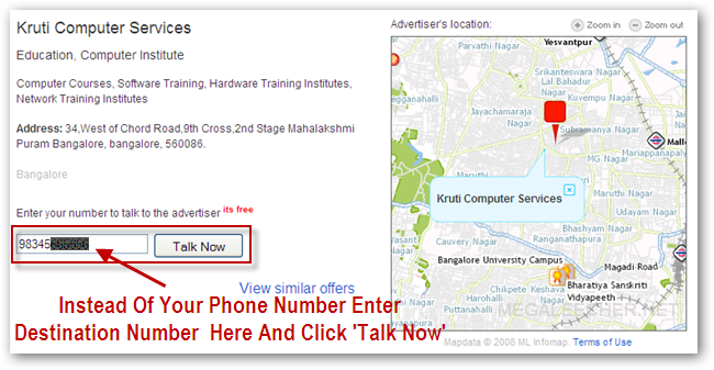 Unlimited Free Calls To India