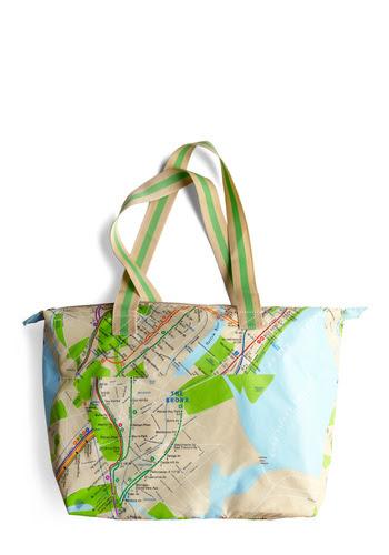 Met Your Map Bag