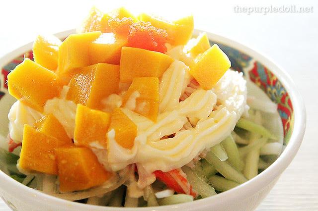 Mango Kani Salad (P150)
