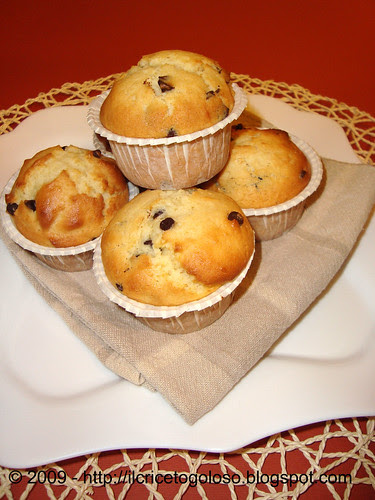 Chocolate chips muffins 1