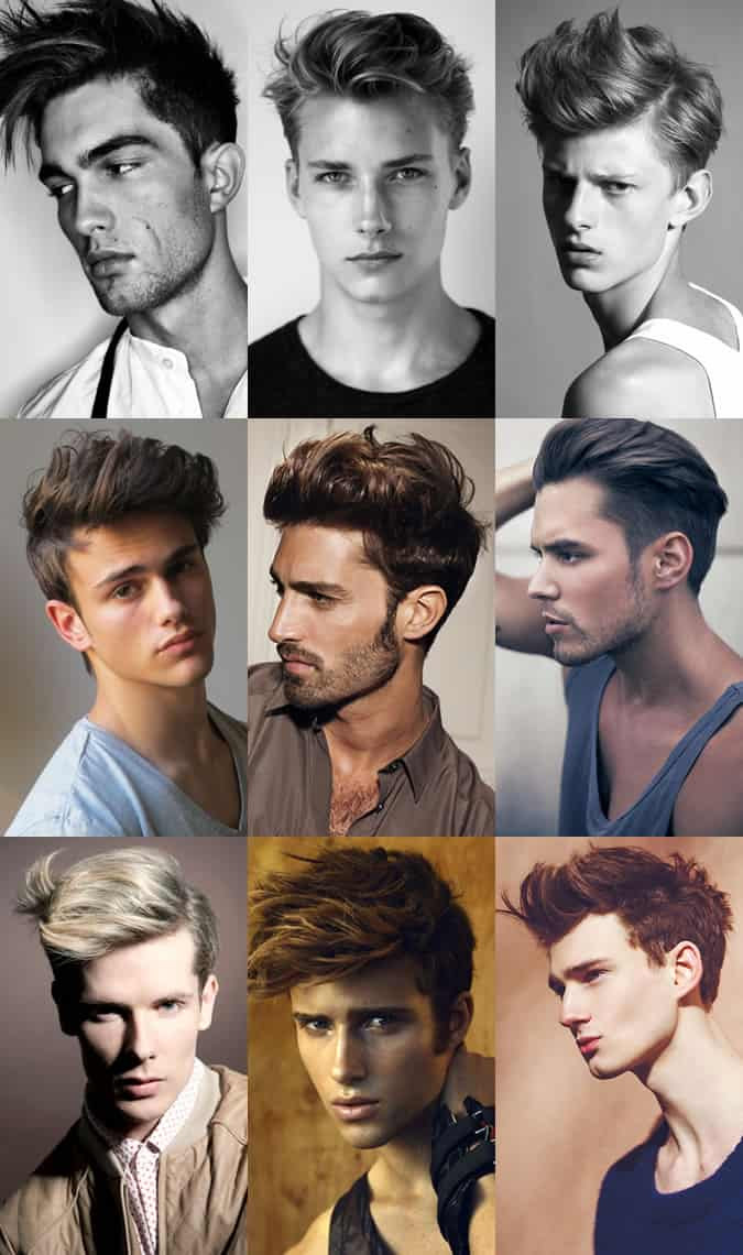 Men's Texturised Hairstyle Lookbook