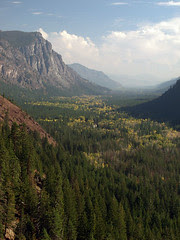 Flagg Mountain and Methow Valley, Autumn (Snapshot)