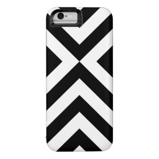 Black and White Chevrons iPhone 6 Case