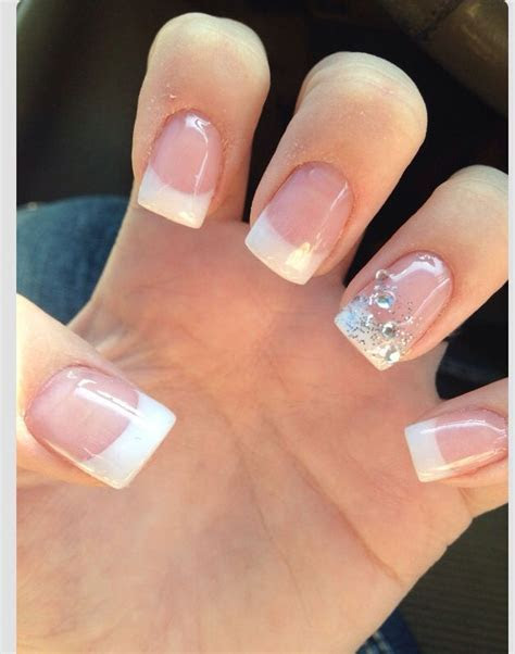 17 Best ideas about French Manicure Toes on Pinterest