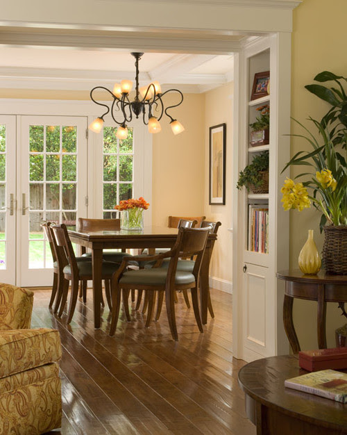 Addition and Remodel traditional dining room
