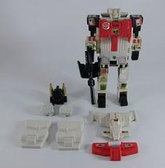 Transformers Silverbolt G1 - modo robot