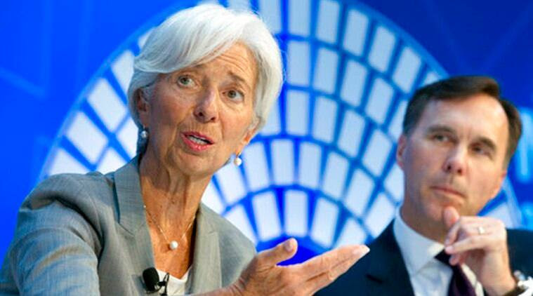 International Monetary Fund (IMF) chief Christine Lagarde