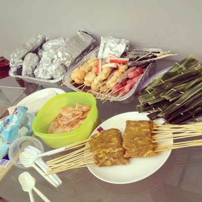 BBQ at home with the family! ☺ (Taken with Instagram at 💓home sweet home💓)