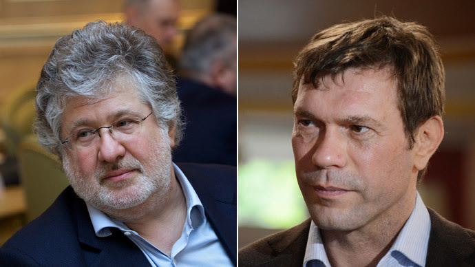 Ihor Kolomoisky, Oleh Tsarev.(RIA Novosti / Natalia Seliverstova / Mikhail Markiv)