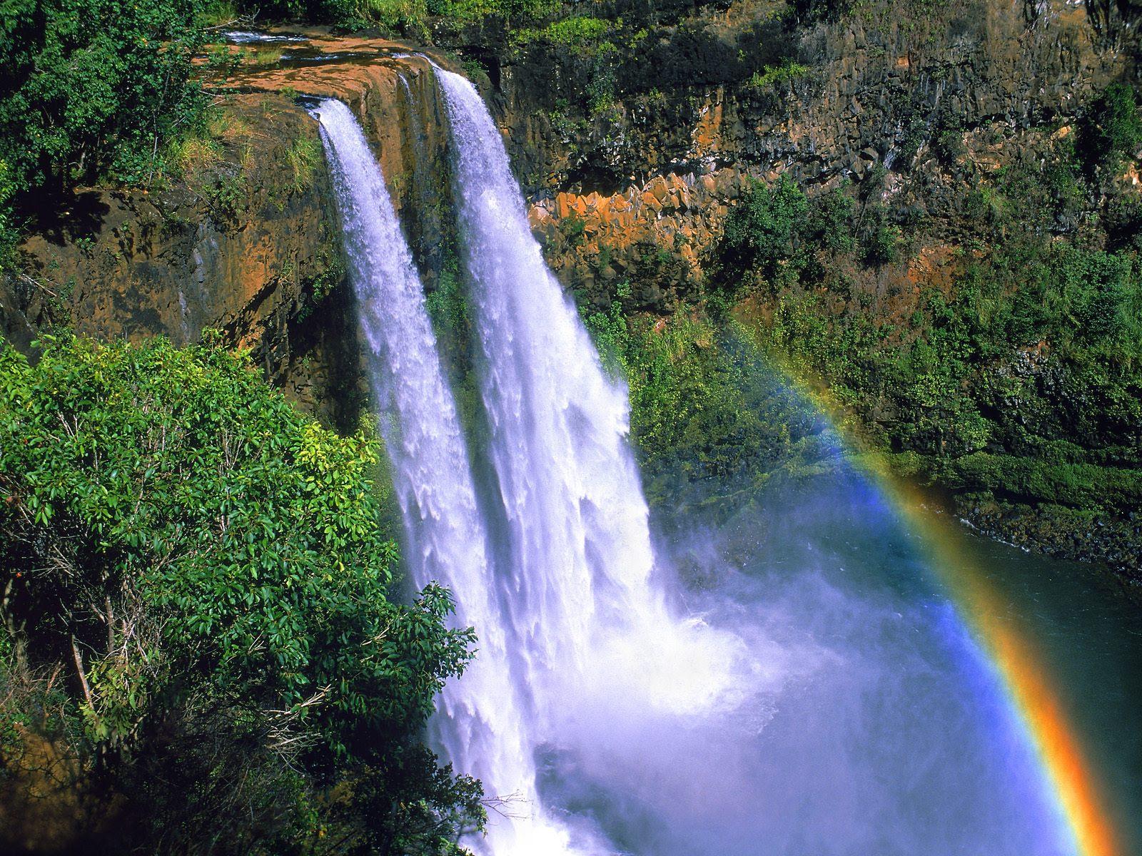 Pemandangan Air Terjun Foto Dunia Alam Semesta INDONESIA