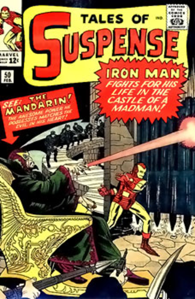 The Mandarin's 1st appearance in Tales of Suspense #50
