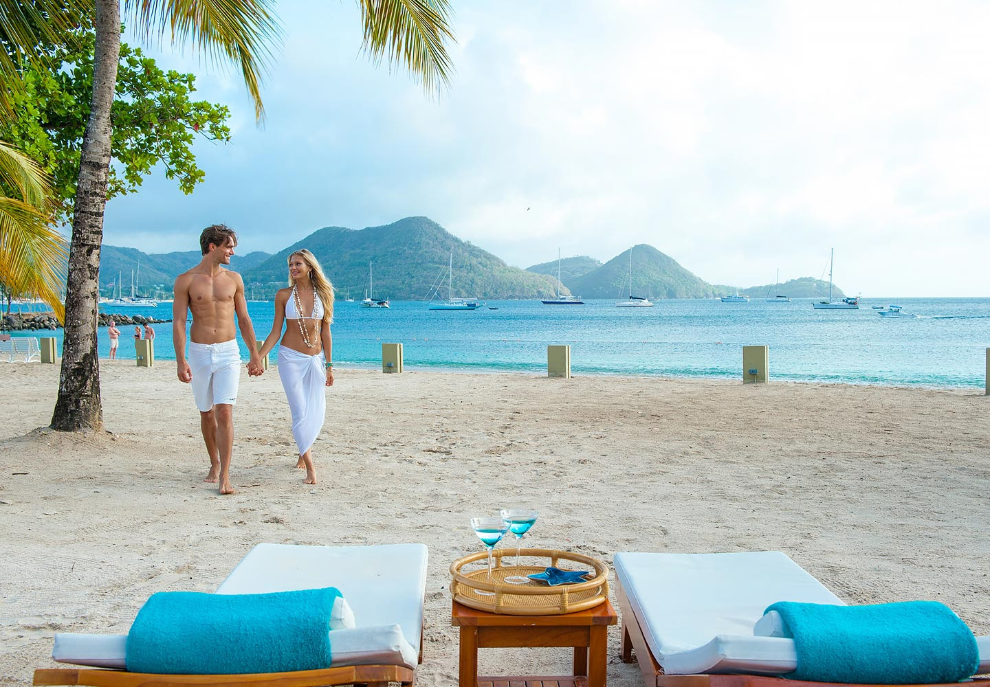 Sandals Grande St Lucian vs Jade Mountain  All Inclusive