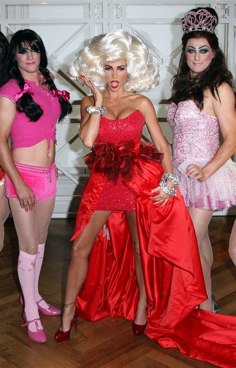 Photos of Katie Price and Alex Reid in Drag as Jordan