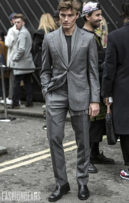 Oliver Cheshire, Photographed in London<br/> Click Photo To See More