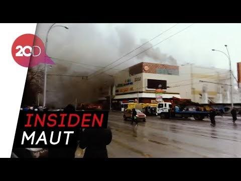 Mall Rusia Terbakar, 37 Orang Tewas Terpanggang