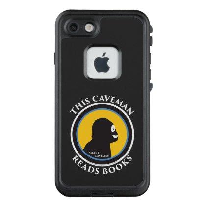 Fre LIfeproof iPhone Case Read Smart Caveman