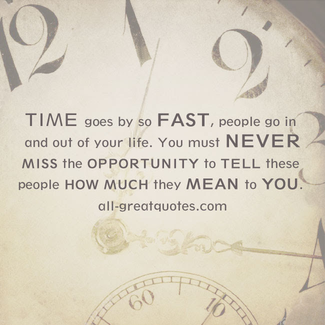 Time Going Too Fast Quotes Of Dragonsfootball17