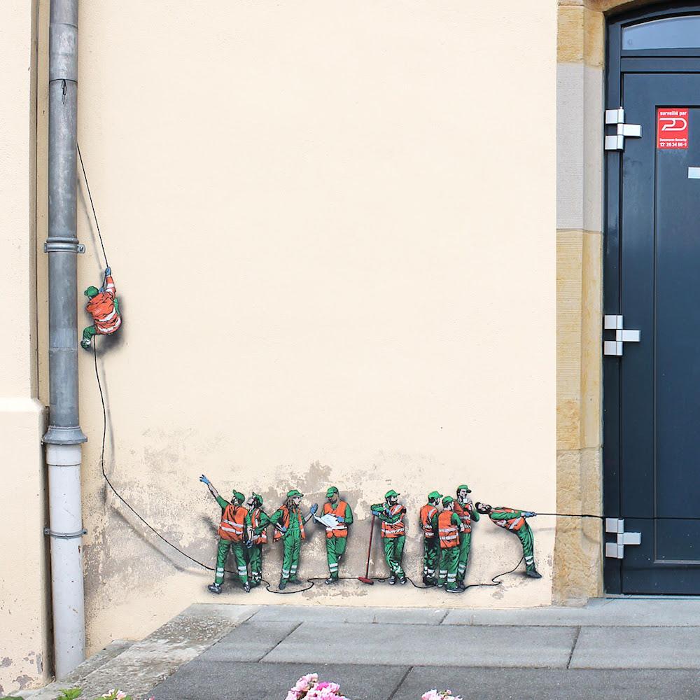 perierga.gr - Καλλιτεχνική παρέμβαση στους δρόμους της πόλης!