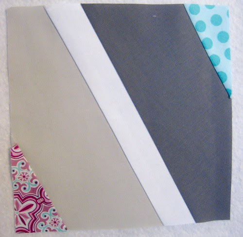 Wavey Prism block ~ December {Faith} do.Good Stitches Quilt