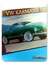Kit 1/16 Revell - Volkswagen Karmann Ghia Coupe - maqueta de plástico