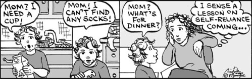 Home Spun comic strip #610