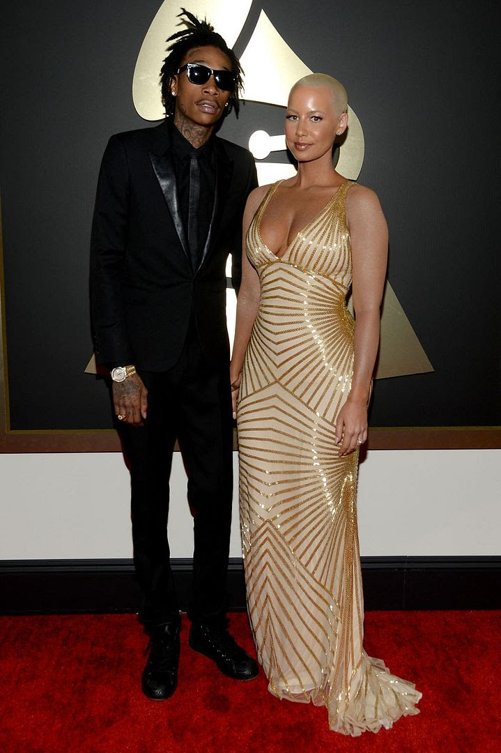 Grammy Awards 2014 photo 81ed2415-e14c-40dc-80d7-430363ff6418_WizKhalifa_AmberRose.jpg