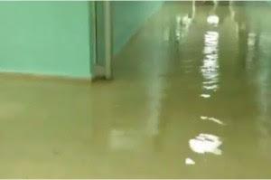 Se inundan áreas del Hospital San Vicente de Paúl en San Francisco