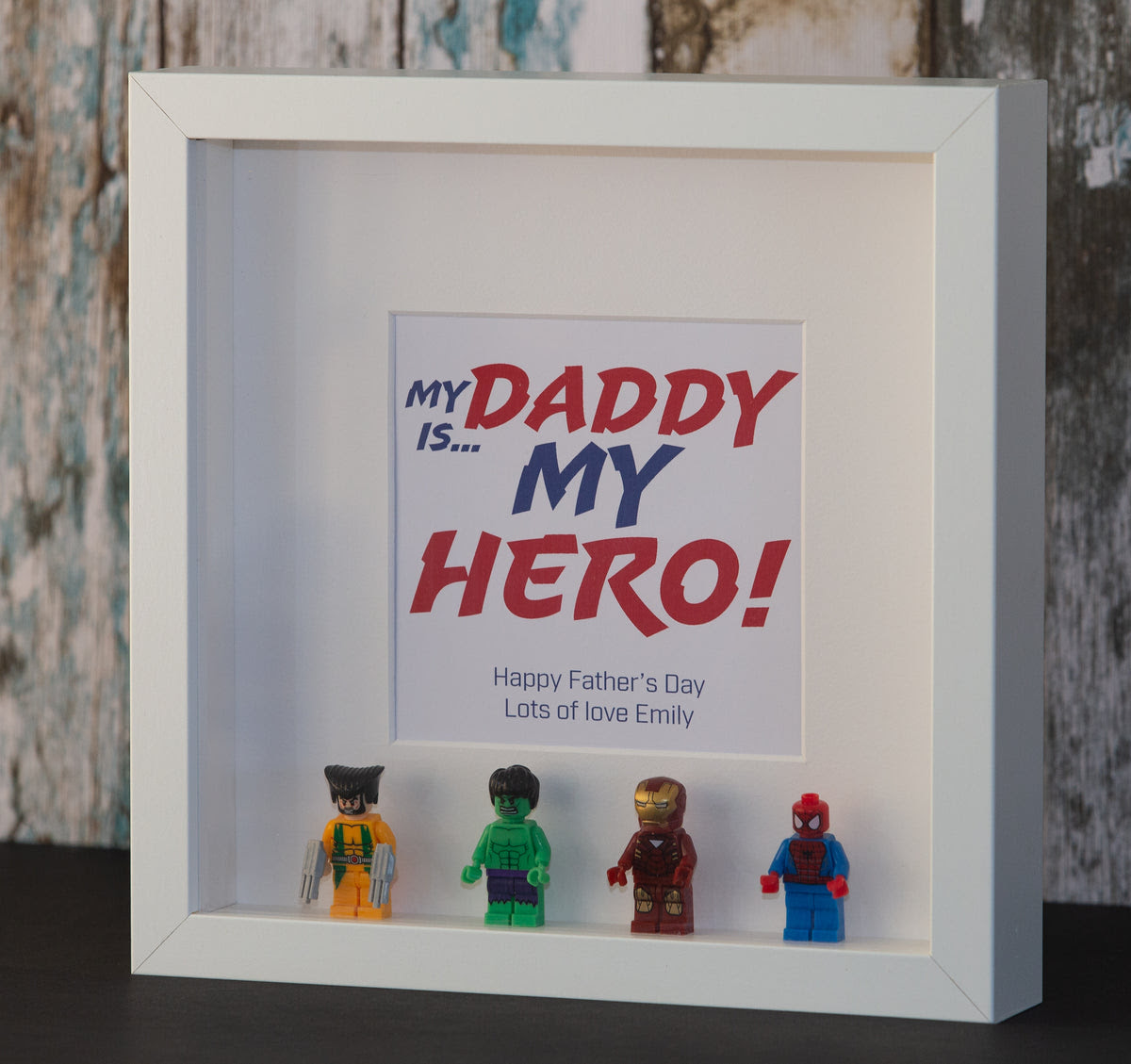 100+ Best My Dad My Hero Picture Frame
