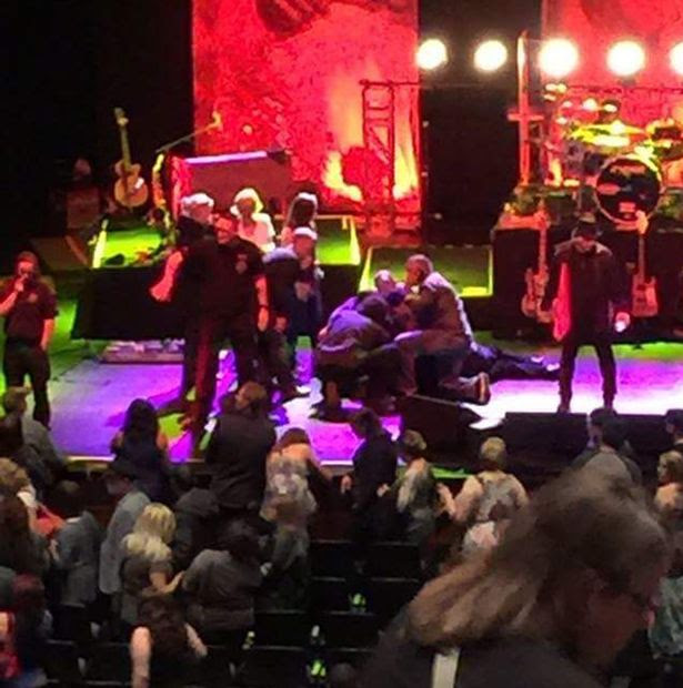 Meatloaf collapses on stage in Edmonton