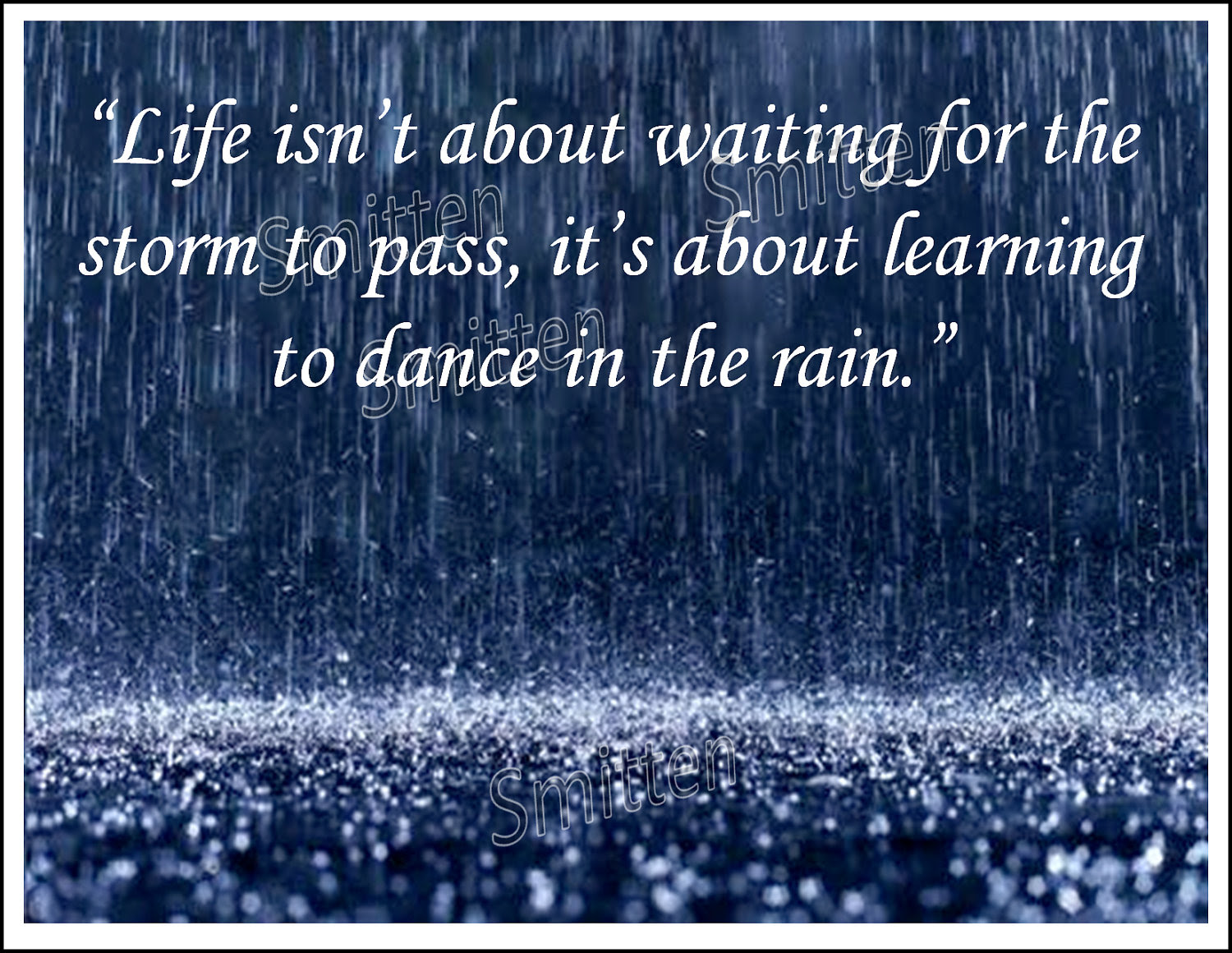 Quotes About Beautiful Rain 49 Quotes