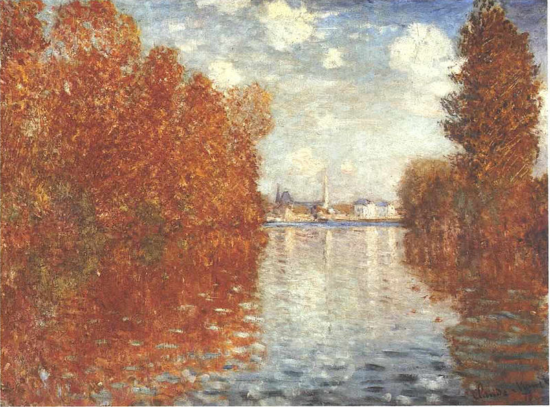 File:Monet - Herbst in Argentueil.jpg