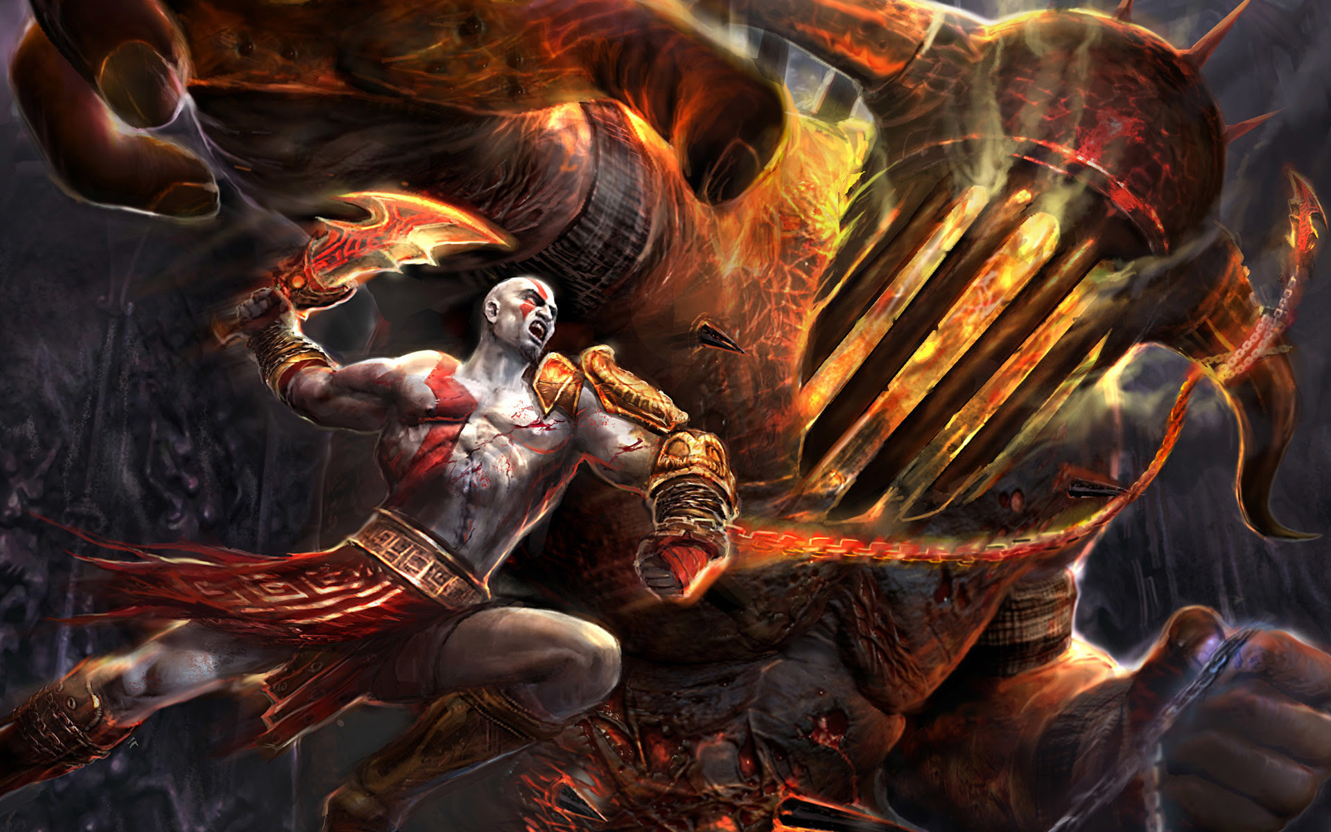 God Of War 3 Wallpapers Hd 85 Background Pictures