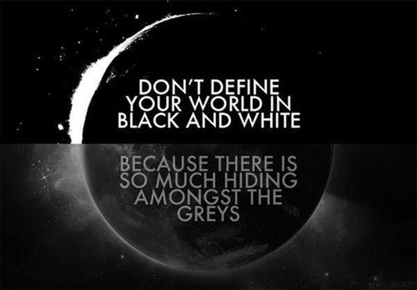 Black And White Pictures Quotes