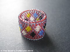 Jack of Diamonds Ring by The Sage's Cupboard