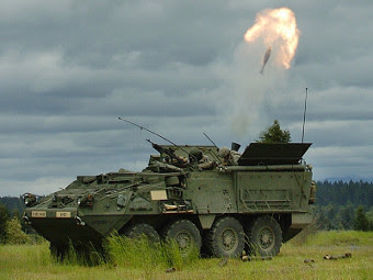 M1129 Stryker. Фото с сайта defenseindustrydaily.com